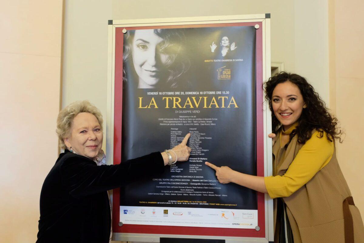 Savona - Renata Scotto e Rosa Feola