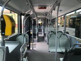 TPL Linea - Interno nuovo autobus