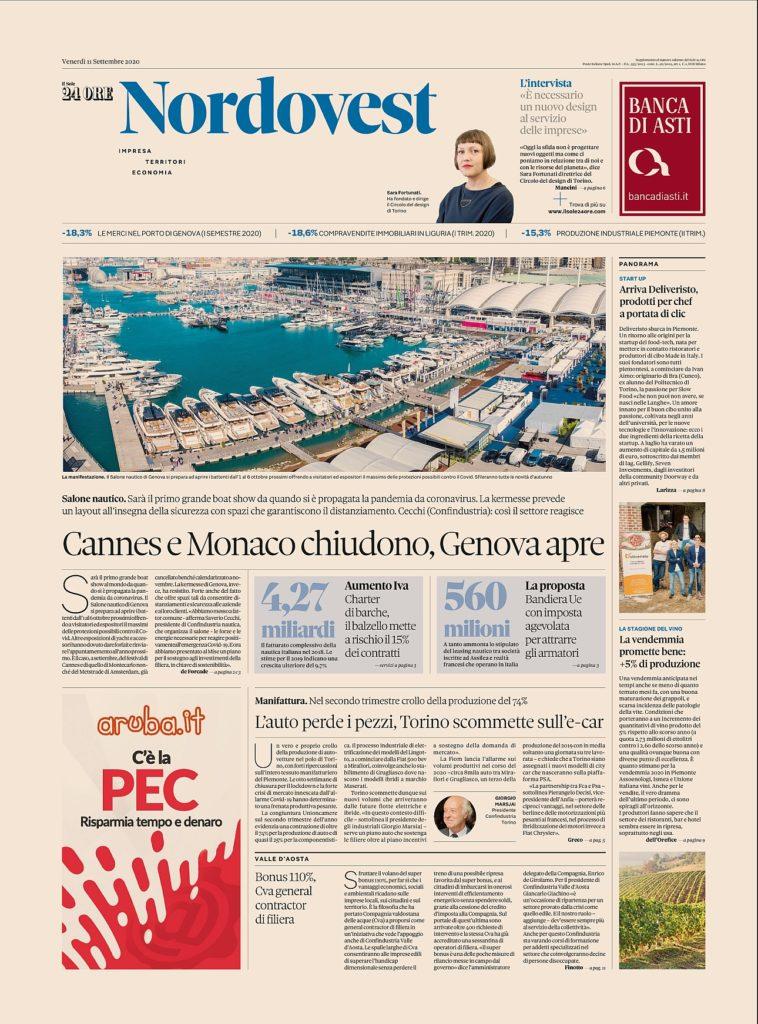 la prima pagina-Rapporto-NORDOVEST_11.09.2020