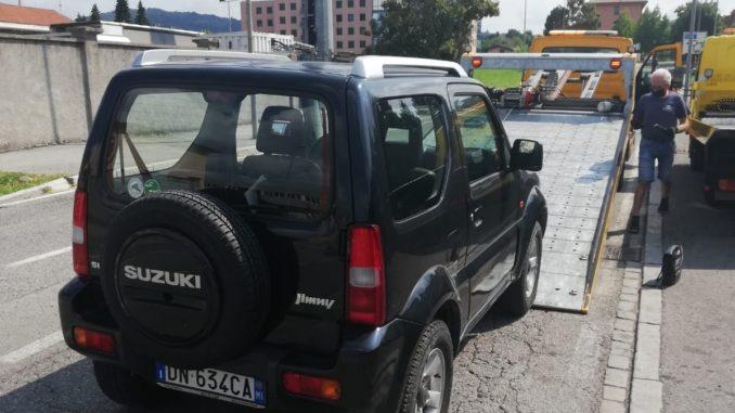Suzuki parco macchine polizia locale di Albenga