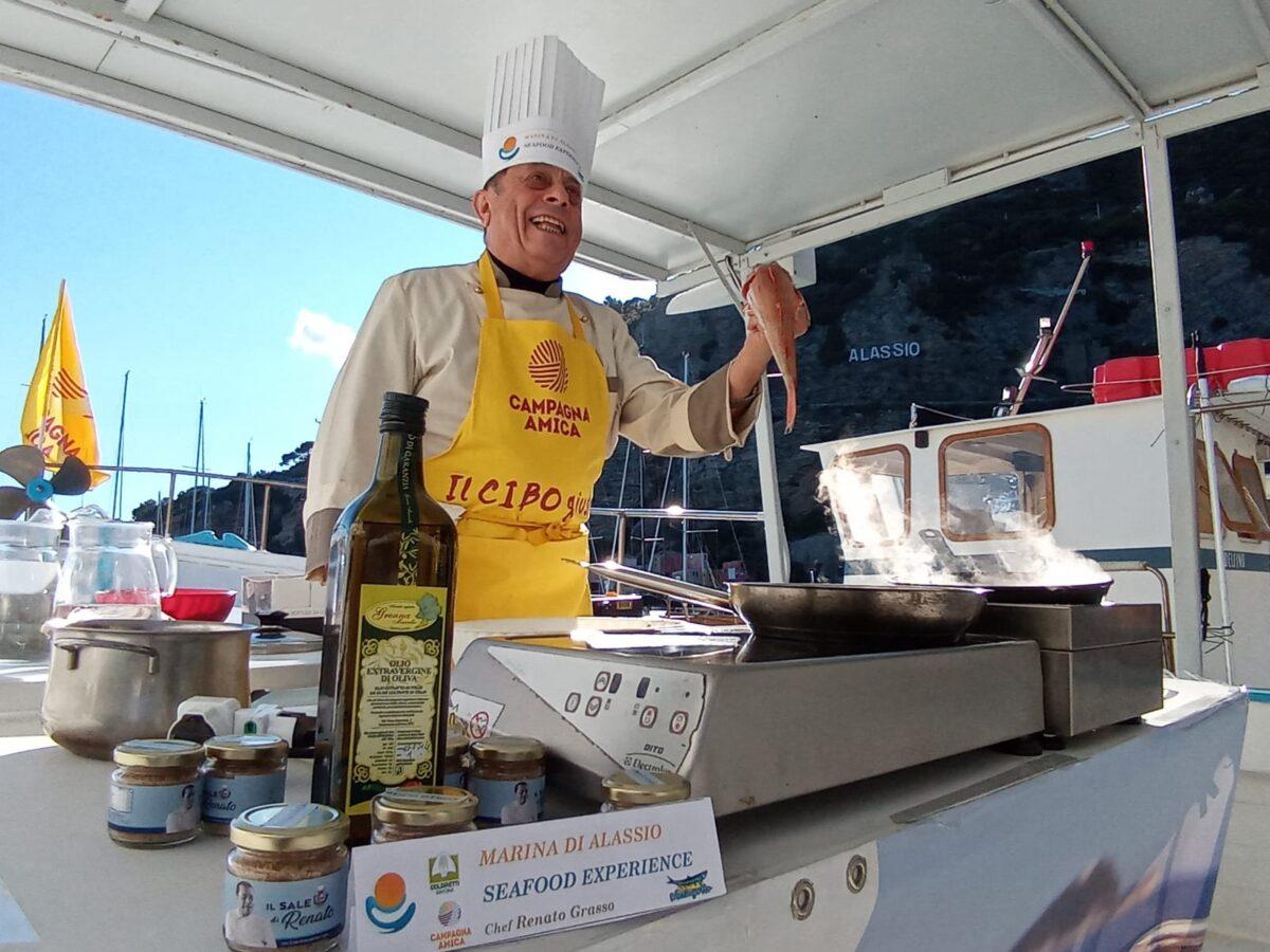Alassio Prodotti a km0 in barca