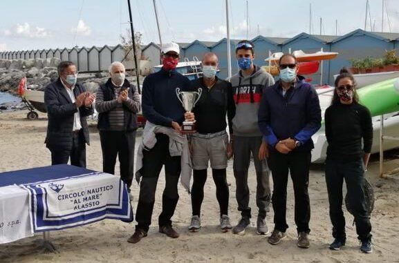 Alassio equipaggio vincitore della Settimana velica