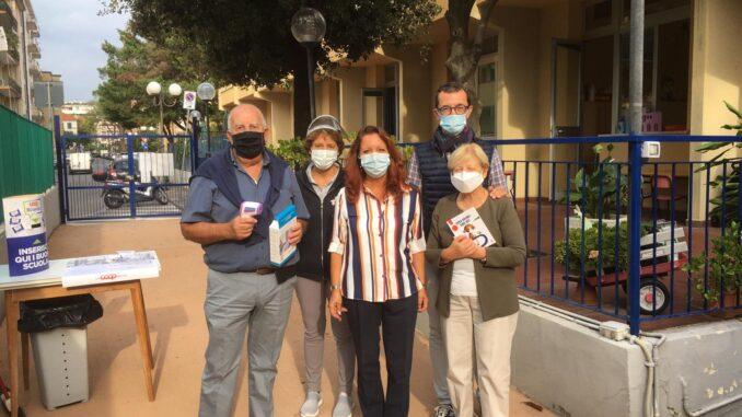 Albenga donazione Tre Torri termometri alle scuole