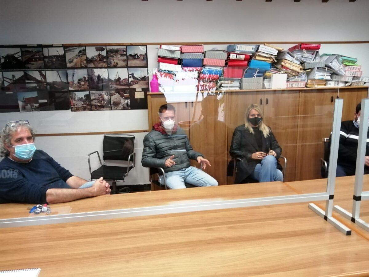 Albenga - riunione protezione civile