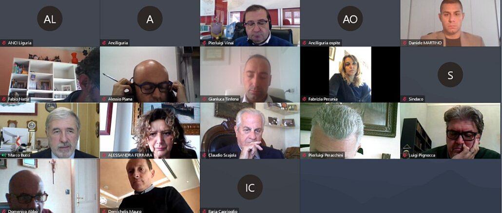 Anci Liguria -Ufficio di Presidenza 19 ottobre 2020