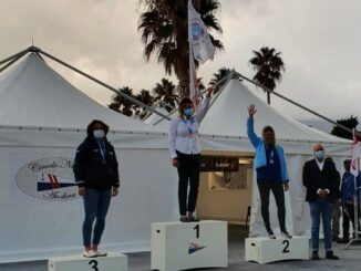 Andora Laser Il podio femminile