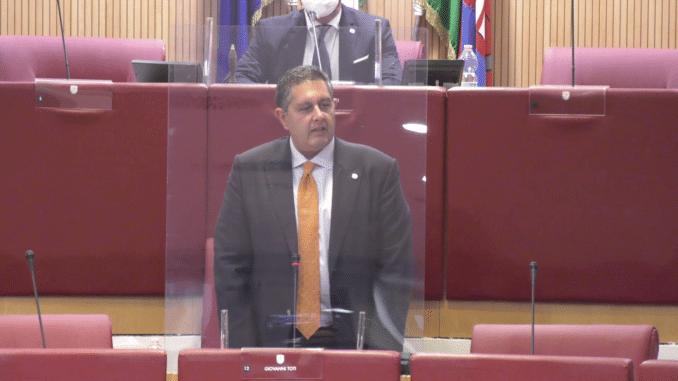 Consiglio Regione Liguria - Giuramento Giovanni Toti XI legislatura