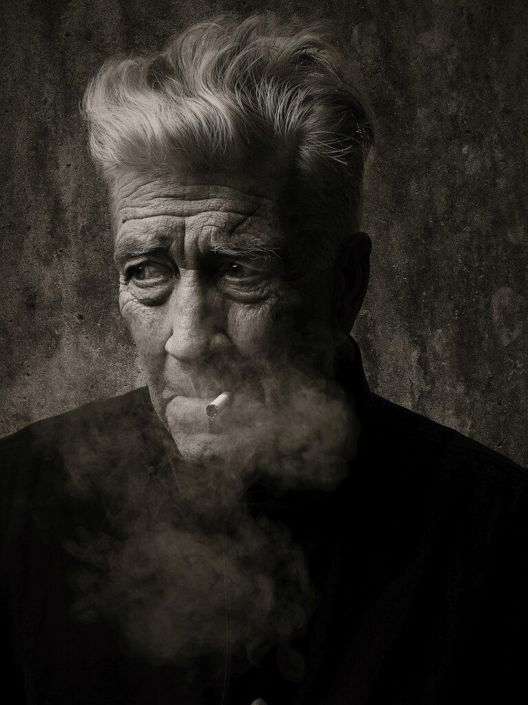 David Smoking