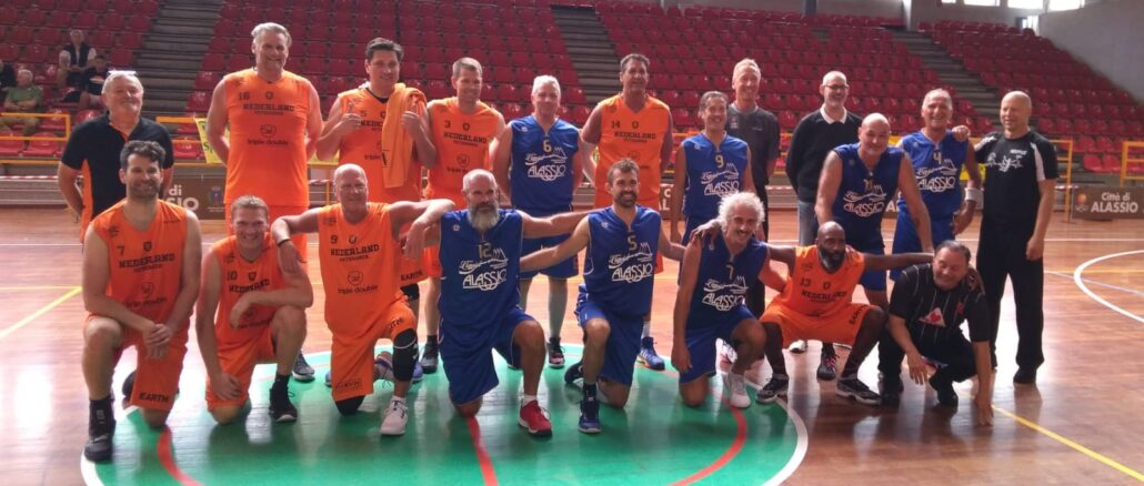 Dutch Veterans - Alassio Basket Over 40