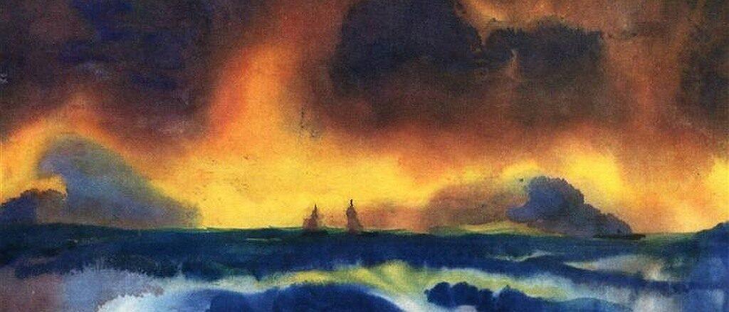 Emile Nolde - Mare in tempesta