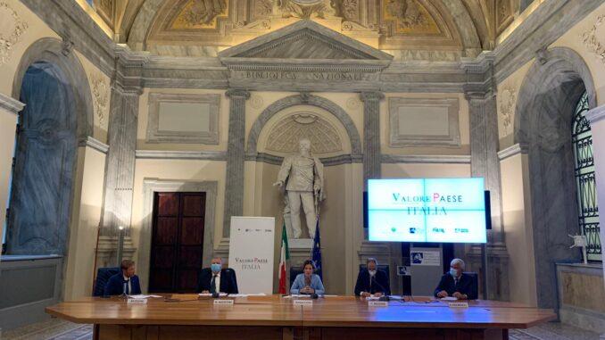 Foto conferenza stampa Valore Paese Italia