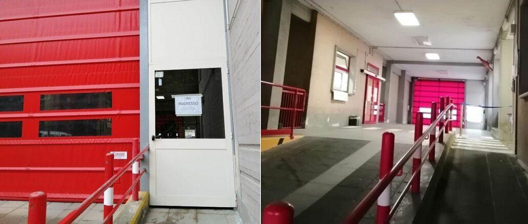 Ingresso Ospedale San Giuseppe di Cairo Montenotte