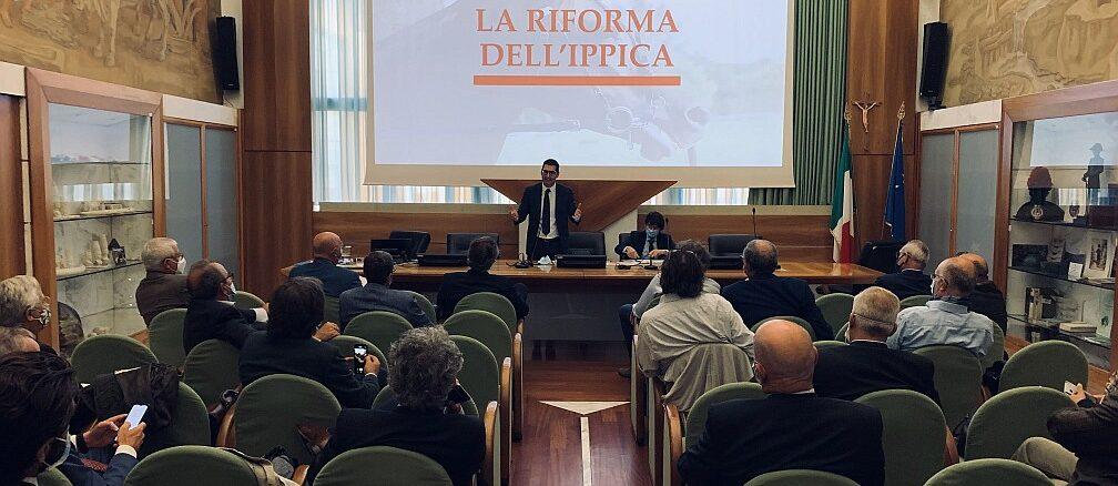 La riforma ippica