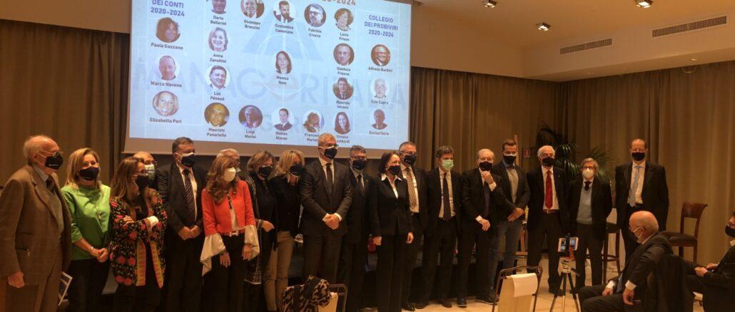 Manageritalia Liguria - Foto di tutti gli eletti in consiglio direttivo, sindaci e probiviri Liguria