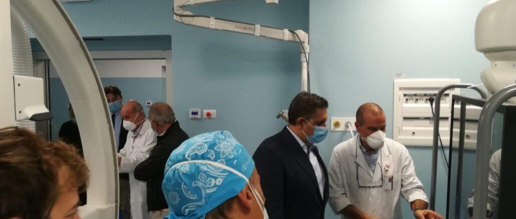 Nuovo Angiografo Ospedale Santa Corona di Pietra Ligure