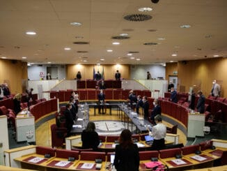 Panoramica aula Consiglio Regione Liguria