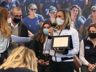 Premiazione-Scuole-di-Vela Varazze - Genova-salone-Nautico.3.10.2020
