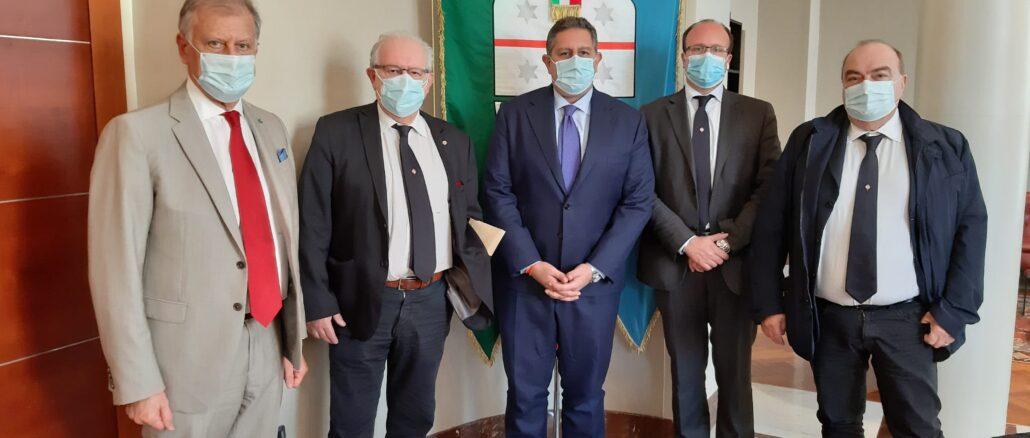 Regione Liguria - Ordine medici incontro con presidente Toti