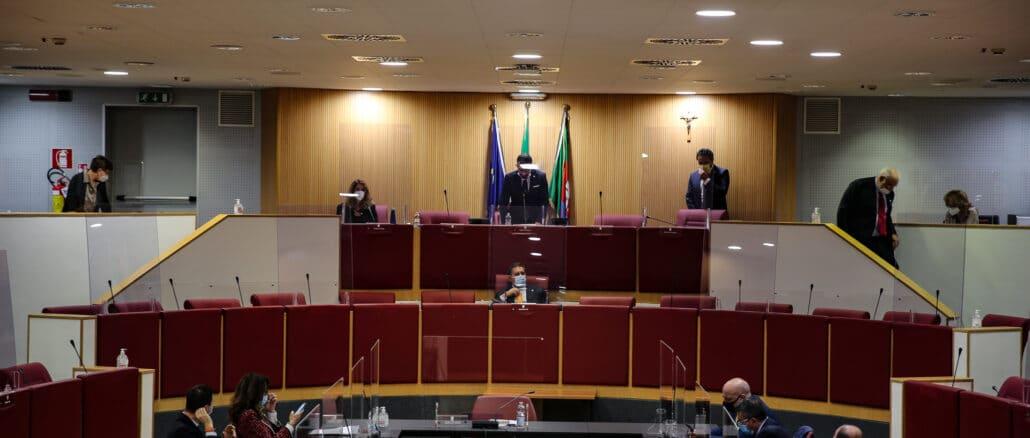 Regione Liguria Panormaica aula Consiglio