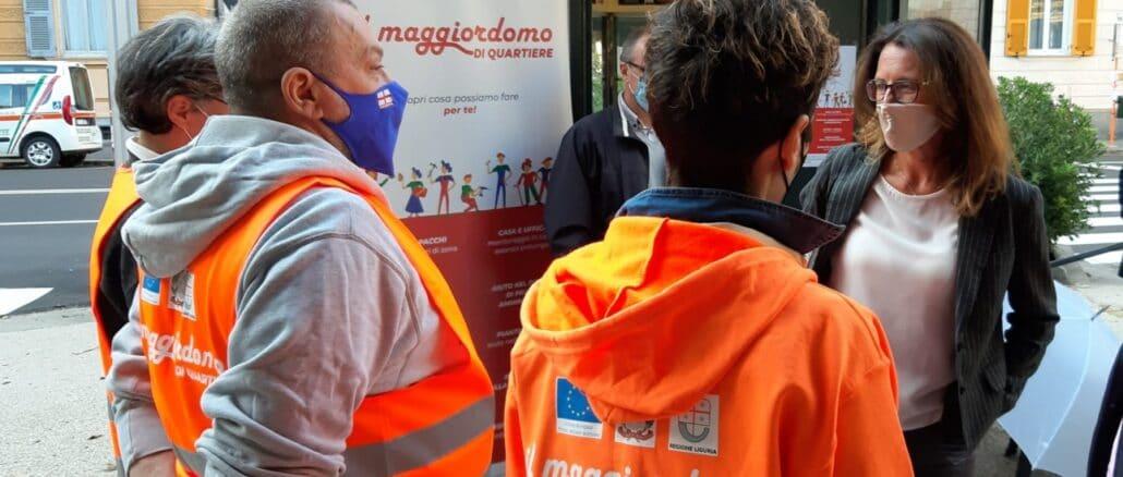 Regione Liguria - Servizio Maggiordomo di quartiere