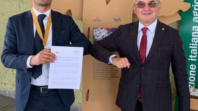Sottosegretario L-ABBATE e Presidente CRISTINI