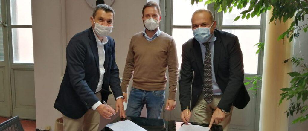 Turismo Stefano Landi firma contratto con il Comune di Albenga