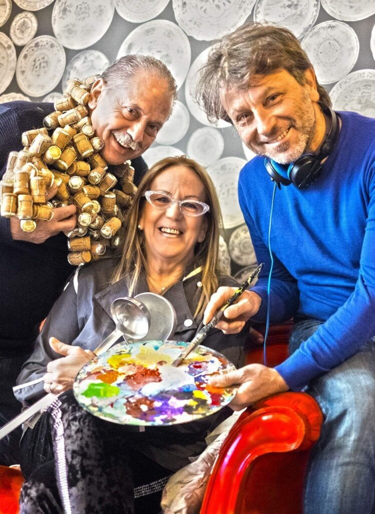 chef e artista per Arte in cucina