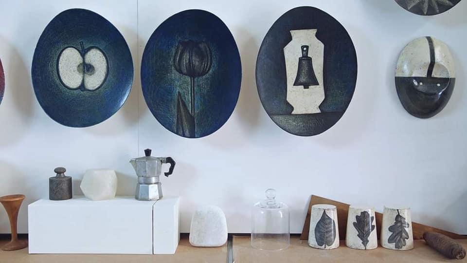 opere mostra di Mirco Denicolò