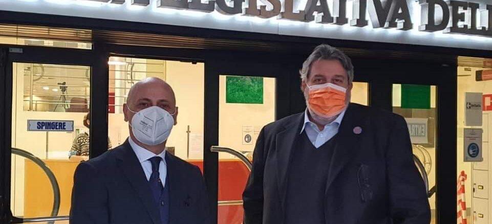 Angelo Vaccarezza capogruppo Cambiamo Regione Liguria