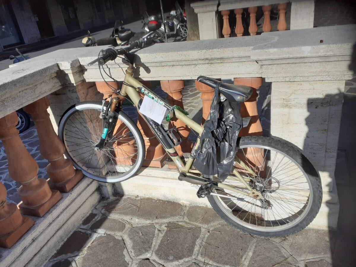 Bici rimosse ad Alassio