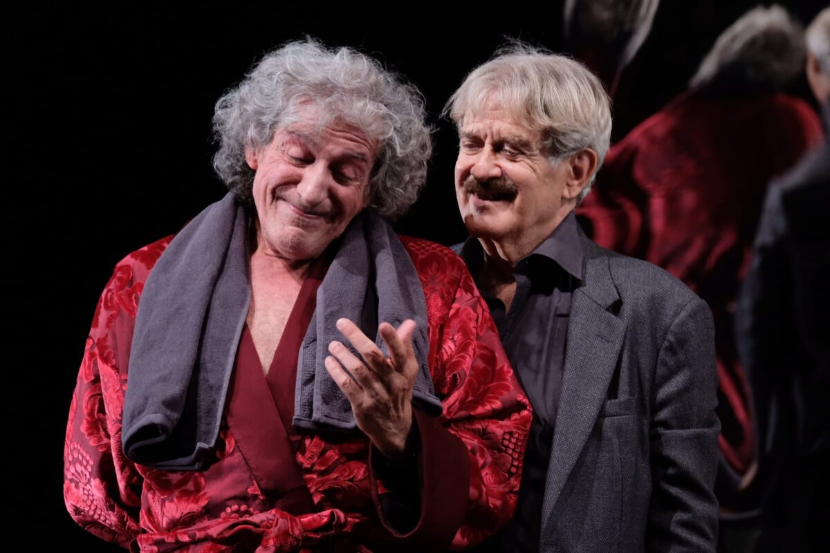 Carlo Greco e Giuseppe Pambieri in Nota stonata.2