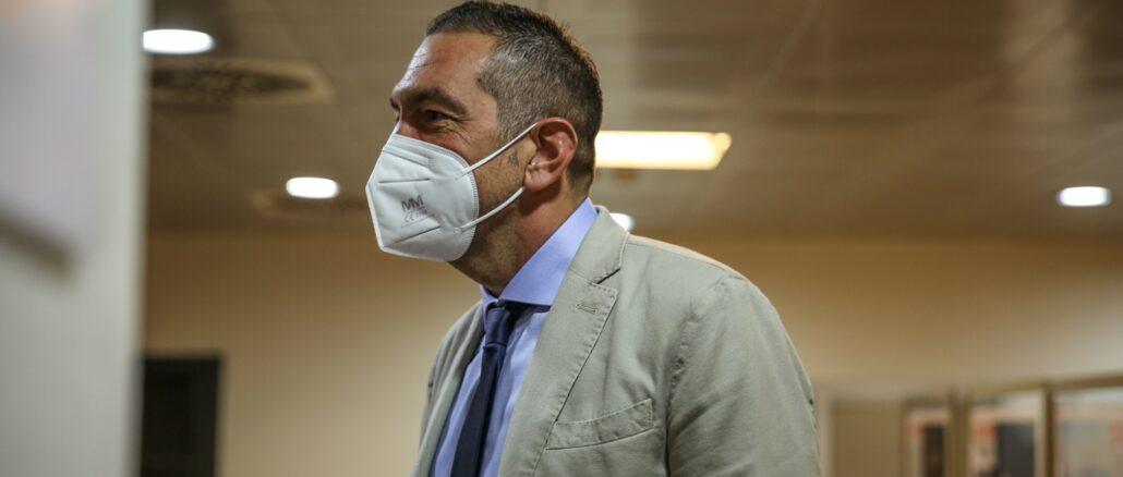 Consigliere Regione Liguria Roberto Arboscello