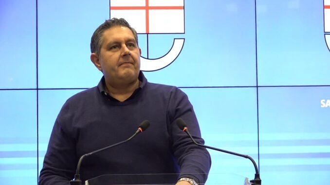 Giovanni Toti - Regione Liguria nella Sala trasparenza