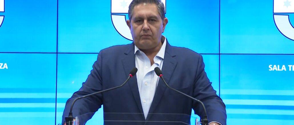 Presidente di Regione Liguria Giovanni Toti