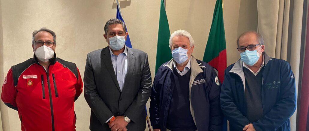Regione Liguria accordo pubbliche assistenze 6 nov 2020