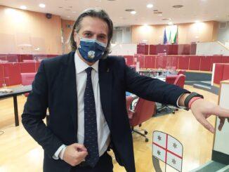 Stefano Mai in Consiglio Regione Liguria