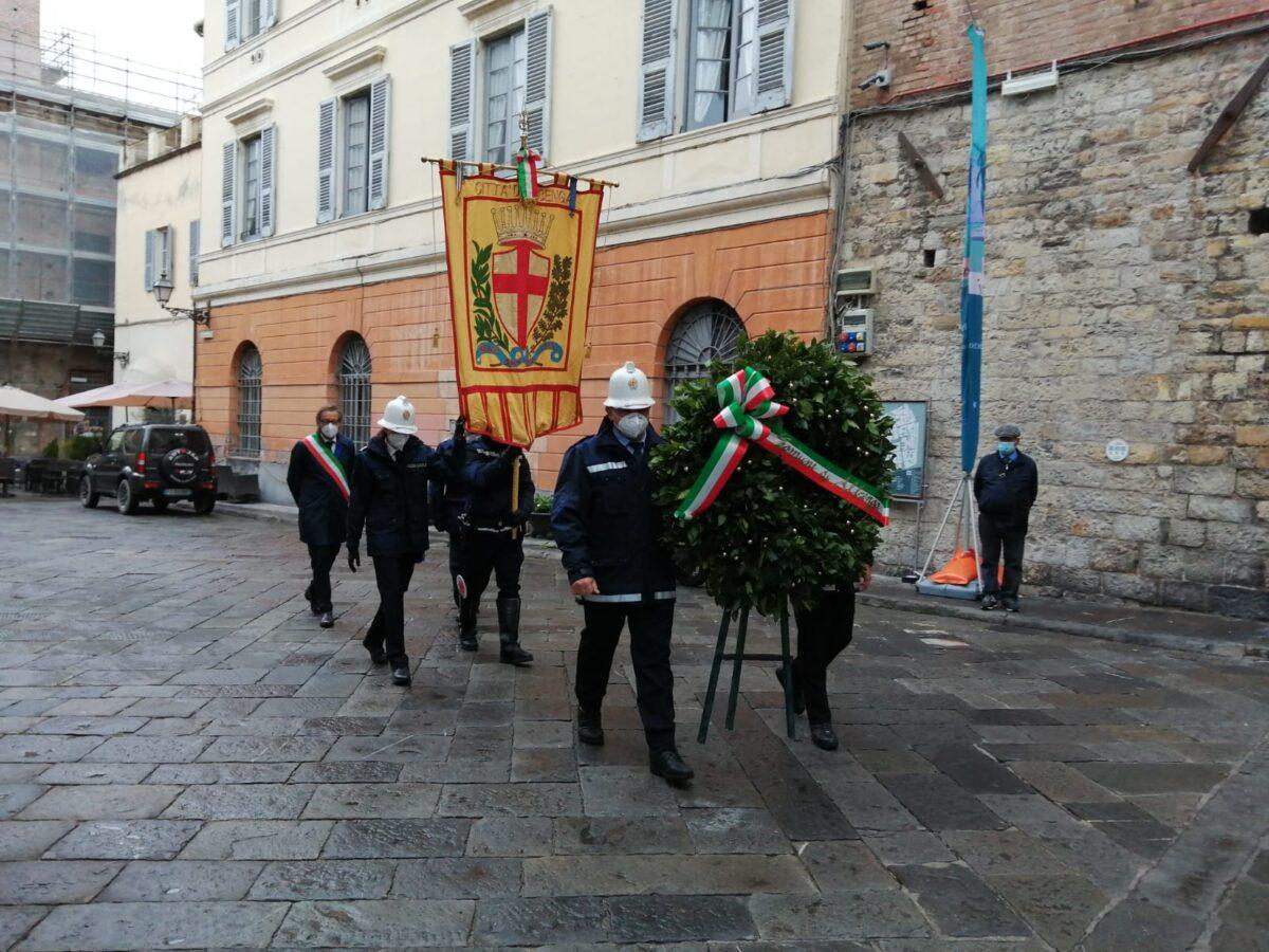 Albenga cerimonia IV Novembre