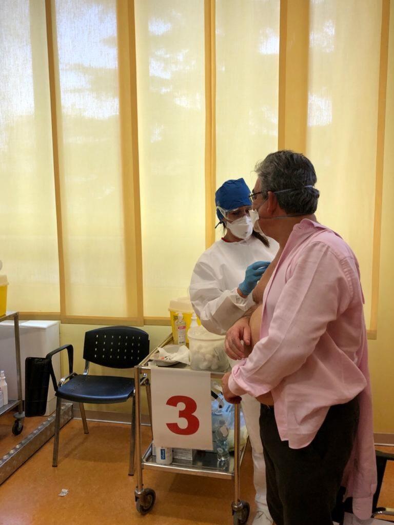 ASL2 savonese covid vaccine day Ospedale San Paolo Savona 04