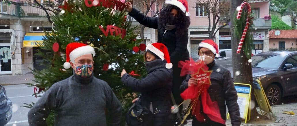 Albenga - Alberello natalizio a Vadino