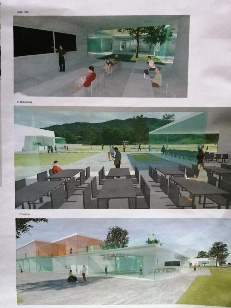 Albenga rendering polo scolastico