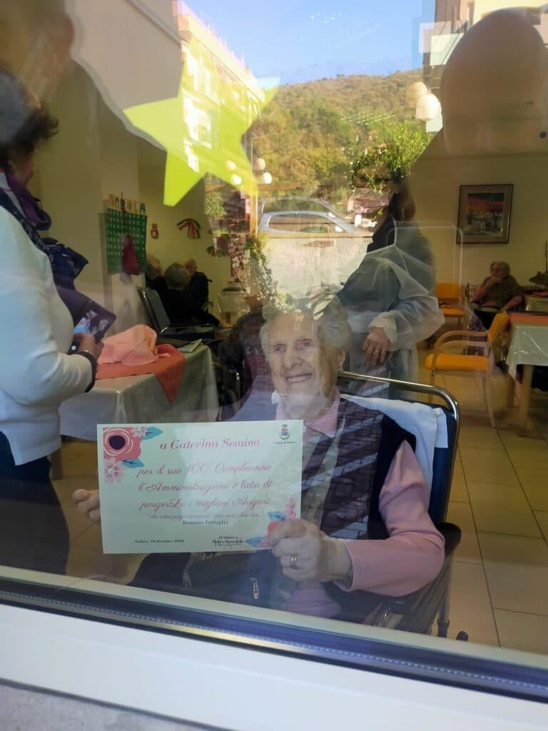 Caterina Semino ha compiuto 100 anni