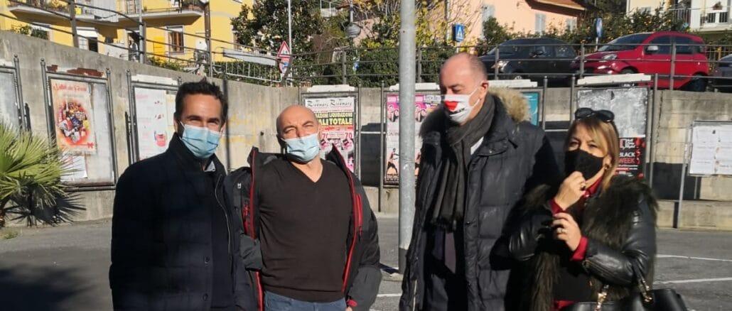 De Vincenzi, Feltrin, Melgrati e Giannotta in Via Pera ad Alassio