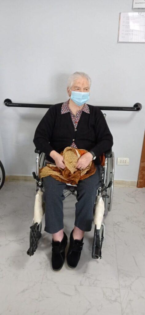 Fiorinda Giglione 101 anni vaccinata presso RSA Sacro Cuore di Brugnato ASL5
