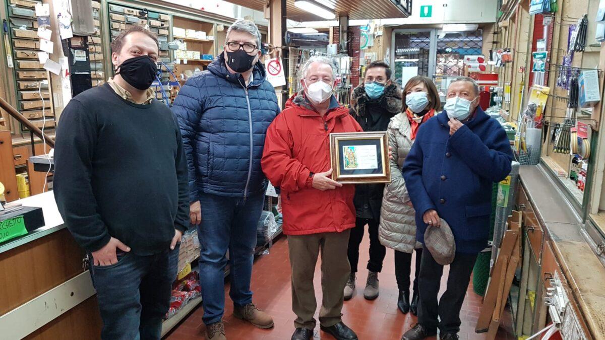 Loano targa per 150 anni Ferramenta e Coltelleria Montaldo 04
