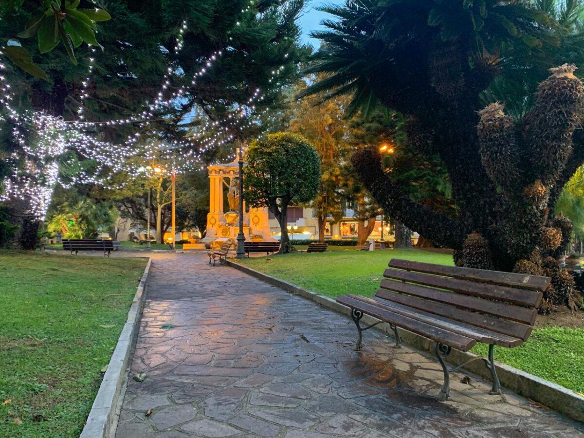 Luminarie natalizie Alassio 2020 - ALbero e giardini