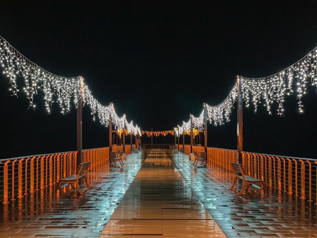 Luminarie natalizie Alassio 2020 - Molo