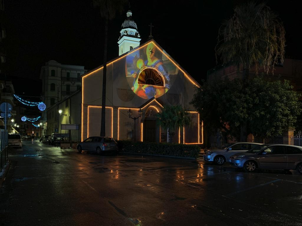 Luminarie natalizie Alassio 2020 - San Francesco