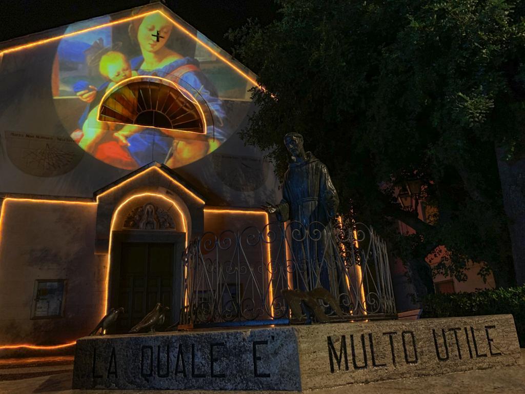 Luminarie natalizie Alassio 2020 - San Francesco1