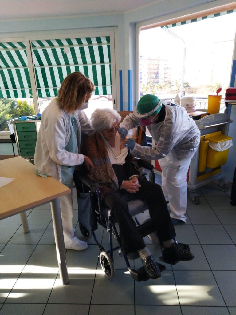 Maria Cicco Lunghi 102 anni Rsa Fondazione Zitomirski in VallecrosiaASL1 2
