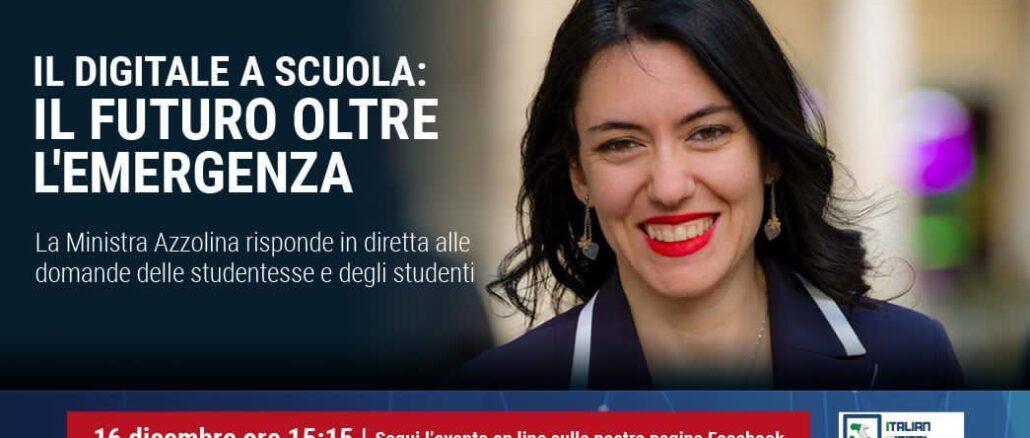 Ministra Istruzione Lucia Azzolina - aidr